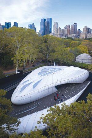 Zaha Hadid's Chanel Pavilion